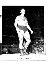 DALE LEWIS NWA AWA WRESTLING ORIGINAL METAL PRINTING PLATE 1970'S