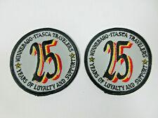 vintage lot 2 Winnebago Itasca Travelers Club WIT 25 years loyalty patch