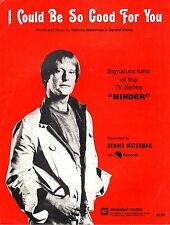 Sheet Music: I COULD BE SO GOOD FOR YOU Dennis Waterman MINDER 6 sides. EC