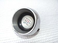 1960 Cadillac chrome steering wheel horn button with center emblem OEM original