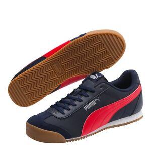 NEW PUMA Men's Turino NL Sneaker Size 10.0 US Peacoat - high risk red gum / blue