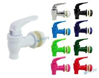"Replacement Water Faucet Spigot Dispenser 3/4"" Valve Bottle Jug Crock Colors New"