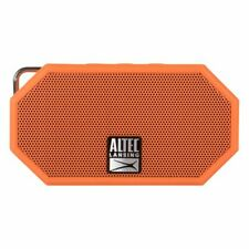 Altec Lansing Mini H2O Water, Sand, Snow, Shock proof Bluetooth Speaker Orange