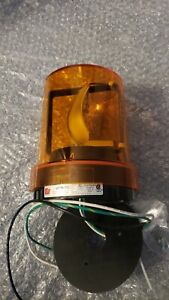 Federal Signal 121S-120Volt Rotating Light Amber new