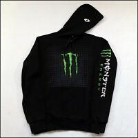 One Industries x Monster Energy Hoodie | Medium | Black/Green/White | Rare