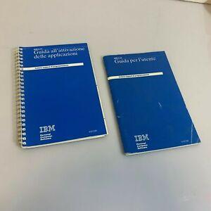 Libro di Guida all'attivazione delle applicazioni e per l'utente IBM 1985