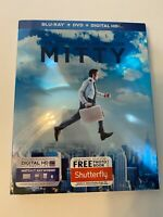 The Secret Life of Walter Mitty w/ Slipcover (Bluray/DVD, 2013) [BUY 2 GET 1]