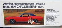 1970 Dodge Dealer Winter Service Special Mailer Folder Challenger Schaffer Dodge