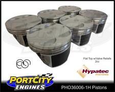Hypatec Piston set for Holden V6 3.6L Alloytec Flat Top 2cc PHO36006-1H
