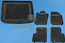 Gummi-Fußmatten+Kofferraumwanne FIAT 500X 2014-heute