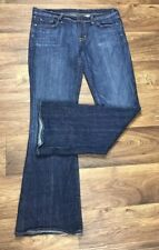 Citizens of Humanity Sz 32 COH Jeans Ingrid 002 Low Waist Flare Stretch Dark