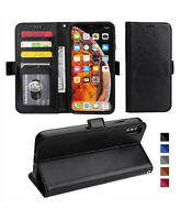 Leather Wallet picture slot Magnetic Flip Case with strap iPhone SE 11 X 8 7 6