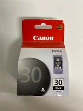 Canon pg-30 black Ink Cartridge Genuine OEM Sealed