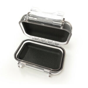 Earphone Case Hard Storage Box for IEM In Ear Monitor (Transparent) Protective