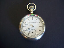 18s Elgin B W Raymond Grade 77 RR 15 Jewel Adjusted Pocket Watch