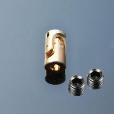 3mm- 3mm Copper universal joint coupling model boat scale Motor Coupler D7L13 B