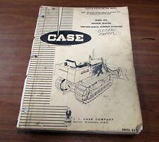 Case B930 Serial Number 3038436 Crawler Tractor Parts Catalog Manual B930