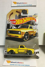 '69 Chevy Pickup YELLOW * 2016 Hot Wheels * Truck Series * Special Edition * J10