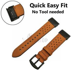 For Garmin Fenix 6X Pro Solar Sapphire Nylon/Silicone Strap Watch Band Bracelet