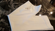 Etcetera Womens Dress Pants Straight Leg White Size 0 NWT $185