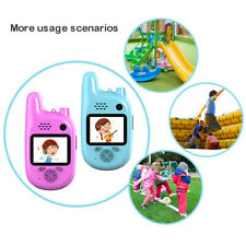 Kids Digital Camera w/ Walkie Talkies Mini Camera 800W Pixel For Girls Boys Gift