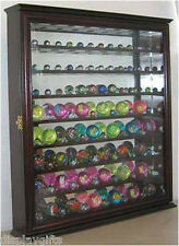 Bouncy Ball/Marble Ball Display Case Shadow Box Wall Cabinet, MB02-CH