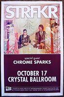 STRFKR 2013 Gig POSTER Portland Oregon Concert