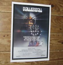 Rollerball James Caan Repro Film POSTER