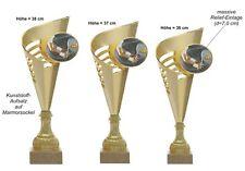 """3er Serie XXL-Pokale """"Tennis"""" 514-T-G (38,0-36,0cm) inkl.Gravur 39,99 EUR"""