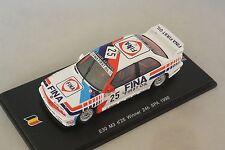 Spark SB068 - BMW E30 M3 n°25 1er 24h SPA 1990 J. Cecotto - F. Giroix - M. 1/43