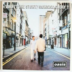 """Vinyl 12"""" LP - OASIS (What's The Story) Morning Glory? - CRE LP 180 1995 - VGood"""
