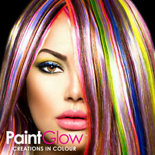 Moon Glow Gel per capelli effetto neon UV  20ml Set di 7 tubi fosforescente