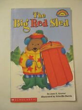 The Big Red Sled - Children's Book, Hello Readers! (2001 PB) (016-4)