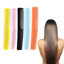 5x Salon Anti Static Hairdressing Hair Cutting Plastic Comb Fine Tooth Combtool`