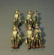 John Jenkins Designs Soldiers GWB-62D The Great War London Bus Passengers Set 1