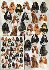 Cocker Spaniel Gift Wrapping Paper By Starprint