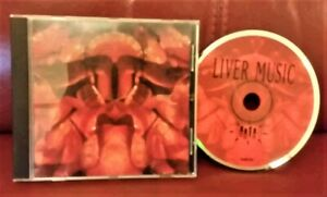 THE RESIDENTS Liver Music RARE ORIGINAL ISSUE CD 1990 UWEB 004 - not the reissue