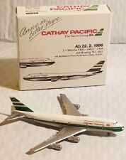 Vintage Schabak CATHAY PACIFIC Boeing 747-300 Diecast 1:600 scale