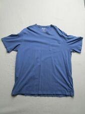 Duluth Trading Mens 2XL Long Tail Short Sleeve Crew Neck Shirt Pocket Casual