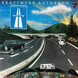 """LP 12"""" - Kraftwerk - Autobahn - 1974 - Vinyl Schallplatte"""