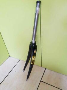 """Vintage Time Millenium Steel barrel carbon fiber 1"""" threadless front fork forks"""