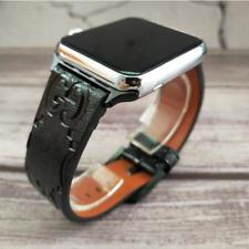Designer Apple watch band strap for series 1 2 3 4 5 | G | Black