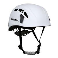 Pro Rock Climbing Caving Rappelling Rescue Safety Helmet Hard Hat Head Protector