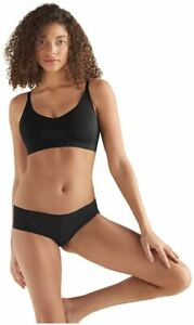 True & Co Women's True Body Triangle Convertible, Black, Size XS (30C-D,32A-B) S