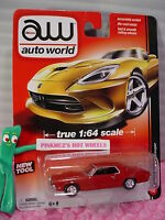 2013 Auto World No. 2 1970 MERCURY COUGAR∞Red∞New Tool∞True 1:64 Scale∞Release 2
