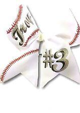 Customized team Softball Hair Bow
