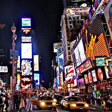 BOITE AUX LETTRES NEW YORK CITY 30cmX30cm AUTOCOLLANT STICKER (BL008).