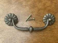 ***LARGE***Ethan Allen Country French Brass Drawer Hardware/Pull/Handle Knob