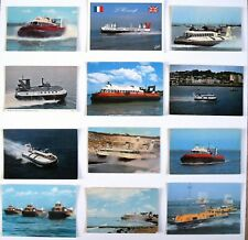 More details for hovercrafts - a collection of 12 different photographic postcards
