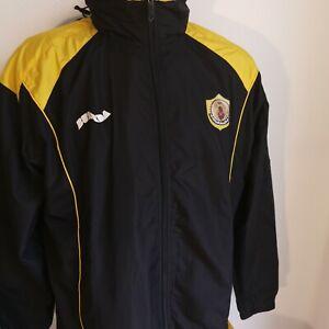 veste de football QUATAR SPORT CLUB taille L BURDA porté?